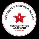 Certificat d'agrément de base - Pro-Médic, Clinique du sommeil
