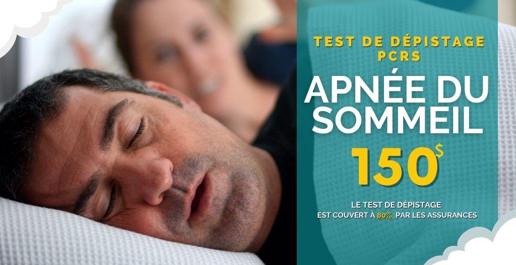 Test dépistage Apnée du Sommeil - Pro-Médic inc. Clinique du Sommeil2021